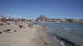 sol : Javea or Xabia Costa Blanca Spain, a coastal town in the province of Alicante, Valencia, Spain, by the Mediterranean Sea