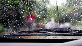 chovendo : Wipe the rain on the windshield.