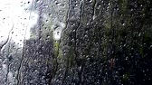 otoÑal : Rain drops on the glass.