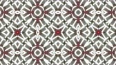 Kaleidoscope seamless loop patterns animattion abstract multicolored motion graphics background.