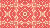motivo floreale : Kaleidoscope seamless loop patterns animattion abstract multicolored motion graphics background.