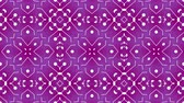 padrão floral : Kaleidoscope seamless loop patterns animattion abstract multicolored motion graphics background.