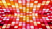 gamma : Broadcast Twinkling Hi-Tech Cubes Stage 20 Stock Footage