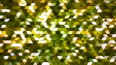Broadcast Twinkling Squared Hi-Tech Triangles, Green, Abstract, Loopable, 4K