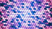 Broadcast Twinkling Cubic Hi-Tech Triangles, Multi Color, Abstract, Loopable, 4K Vídeos