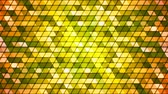 Broadcast Twinkling Cubic Hi-Tech Triangles, Green, Abstract, Loopable, 4K
