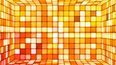 Broadcast Twinkling Hi-Tech Cubes Room, Orange, Abstract, Loopable, 4K