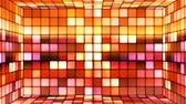 gamma : Broadcast Twinkling Hi-Tech Cubes Room, Multi Color, Abstract, Loopable, 4K Stock Footage