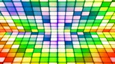 soir??e dansante : Broadcast Twinkling Hi-Tech Cubes Stage, Multi Color, Abstract, Loopable, 4K Vidéos Libres De Droits