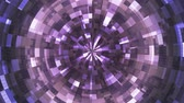 Twinkling Hi-Tech Grunge Flame Tunnel, Purple, Corporate, Loopable, 4K