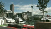 skytower : Auckland Viaduct, New Zealand. Auckland viaduct marina is a residential and commercial entertainment precinct, also catering to commercial boats and superyachts