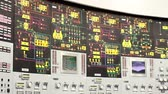 fokozatokra osztás : Nuclear power station. Plant control room. VVER monitoring and control system. The control module by a nuclear reactor.