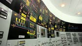 ограничение : Nuclear power station. Plant control room. VVER monitoring and control system. The control module by a nuclear reactor.