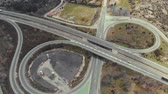 pave : Flying over interchange highway
