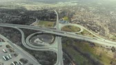 dlažba : Flying over interchange highway