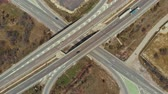 pave : Flying above interchange highway