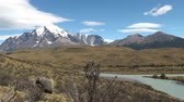 torres : South America - Patagonia - Torres del Paine National Park - Beautiful natural landscape - Travel Destination - Landmark