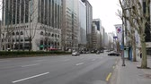 economical : Beautiful panorama on Gangnam district high-rise buildings and multi-lane road