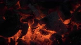 incandescente : Incandescent Hot Coals in Fire