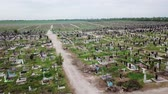 veterán : Aerial view. The biggest cemetery in Europe