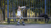 hidratar : little boy drinks water from a bottle after excercise