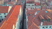 torre : Drone video - Aerial view of Venice Italy Stock Footage
