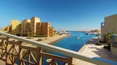 egypťan : footage of modern city El Gouna in Egypt