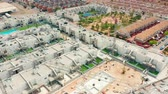 alicante : Aerial view. a contruction area with new buildings. spain, costa blanca, alicante, torrevieja.