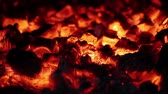 cheminees : Foyer combustion lente Connexion Bois Embers Gros plan