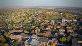 Aerial View of a Common Suburb District Aerial View of a Common Suburb District using a drone at 150m of altitude