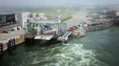 miniatura : departure of a ferryboat fast Timelapse Motion using a Tilt Shift Lens