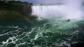 conhecido : June 18th, 2015 in Niagara Falls, Canada. the well known Niagara Falls Boat that Tickets can be bought to be able to see the falls from bellow Vídeos
