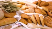 bakker : Breads and Baked Goods Large Assortment Fresh Baked and Crispy Close Up