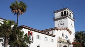 corte : Santa Barbara California City Courthouse and Clock Tower 1