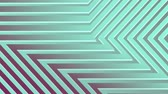 минималист : Abstract 3d rendering of colored geometric shapes. Computer generated loop animation. Geometric pattern Стоковые видеозаписи