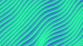 catalog : Colorful wave gradient loop animation. Future geometric diagonal lines patterns motion background. 3d rendering. 4k UHD Stock Footage
