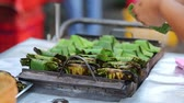 smell : Thai style snack on stove