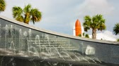 misja : Cape Canaveral, Florida, USA - DEC, 2016: Kennedy memorial at Kennedy Space Center. United States