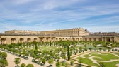 parterre : The Palace of Versailles and Garden daytime timelapse, France