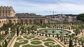 parterre : The Palace of Versailles and Garden view, France