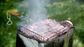 basting : Barbequed meats are roasted