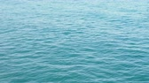 égua : Mediterranean sea background. Tranquil waves of water. Kemer, Turkey. Stock Footage