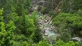 pingos de chuva : Goynuk river flows through a beautiful canyon. Natural landmark in Antalya province of Turkey.