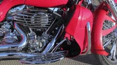 близнецы : close up of motorcycle engine design details