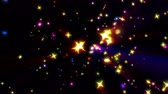 galaxy : color stars ray explosion 4k Stock Footage