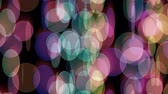 kurtyna : curtain color circles abstract background Wideo