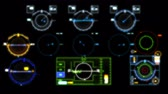 avión de papel : board of a flying control airplane 4k