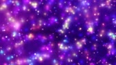 mechanics : color stars fireworks twinkle abstract motion 4k