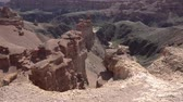 eroze : Charyn National Park Sharyn Canyon Breathtaking Picturesque View of Rock Formations