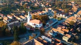 джунгли : Aerial view above Rimetea Village, Transylvania - Romania